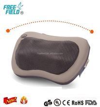 PU wholesale home with infrared heat wheel massage pillow