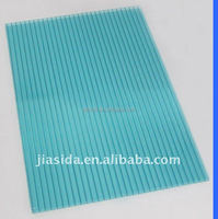 10mm Lake Blue Polycarbonate Hollow Sheet,Hollow PC Sheet
