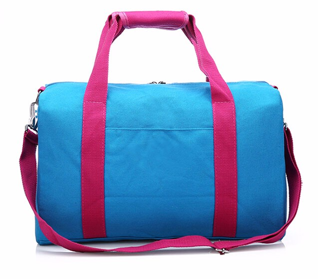 Oversize Canvas Travel Duffel Bag with Adjustable Webbing Shoulder