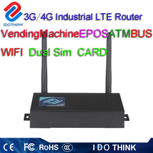 Top Quality M2M dual sim card and module 4G GPS router