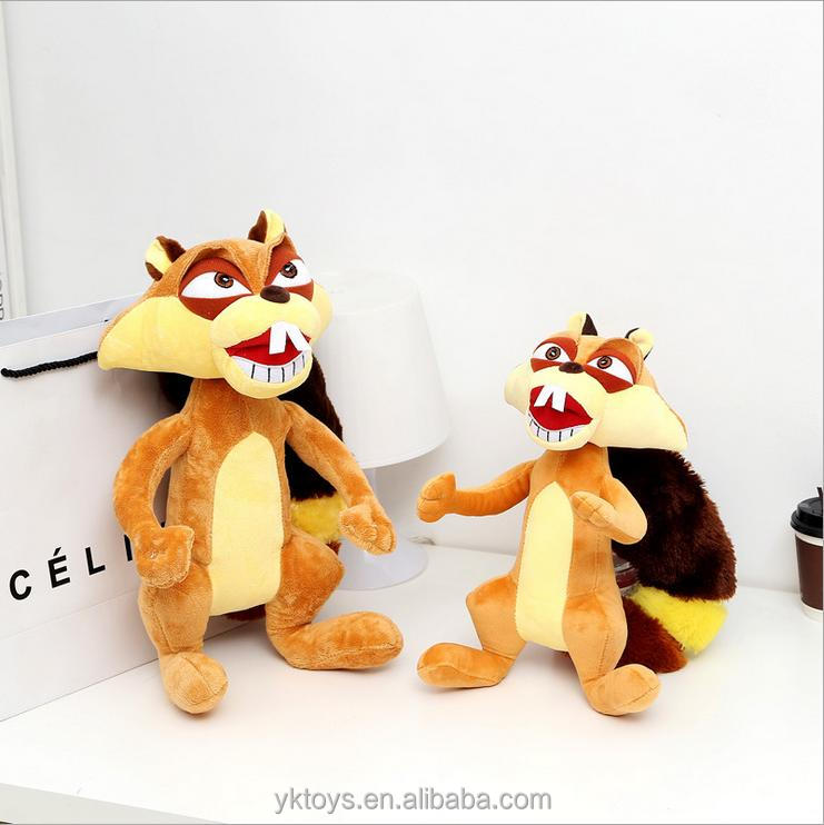 Good quality plush toy squirrel