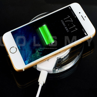 Transparent ABS Light Weight Fantasy Portable Mobile Phone Charger For Android and Iphone