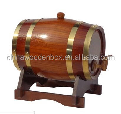 Low moq 1.5 liter solid oak wine barrel for sale