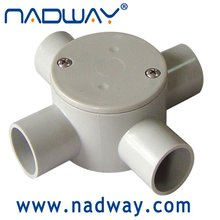 Conduit and fittings 4 way entries with ISO, ASTM, BS, AS/NZS, NEMA,ASNZS