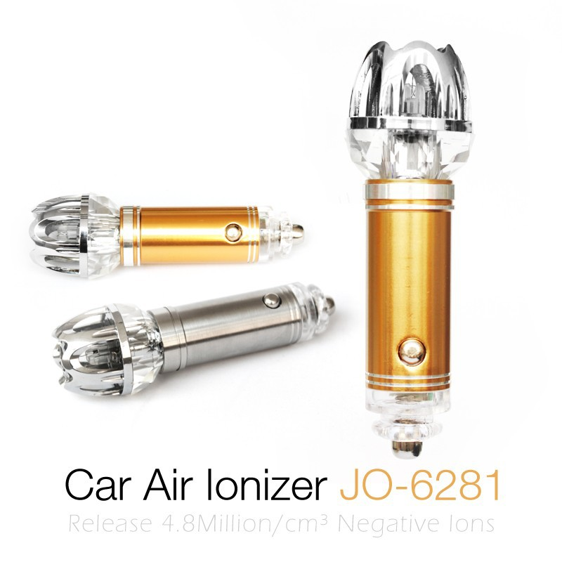 Best Selling Innovative 2015 new products (Mini Car Ionizer Air Purifier For Car JO-6281)