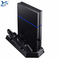 Multifunctional vertical stand+cooling fan+dual charge dock+USB HUB for SONY Playstation4 for PS4