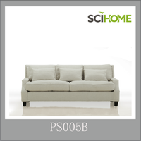 famous brand sofa leisure sofa PS005 classical fabric sofa
