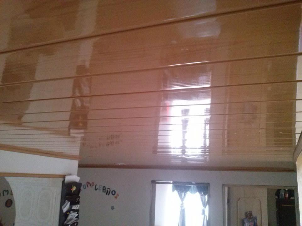 Modern 3d Wood Ceiling Panels Foam Board Printing Interior
