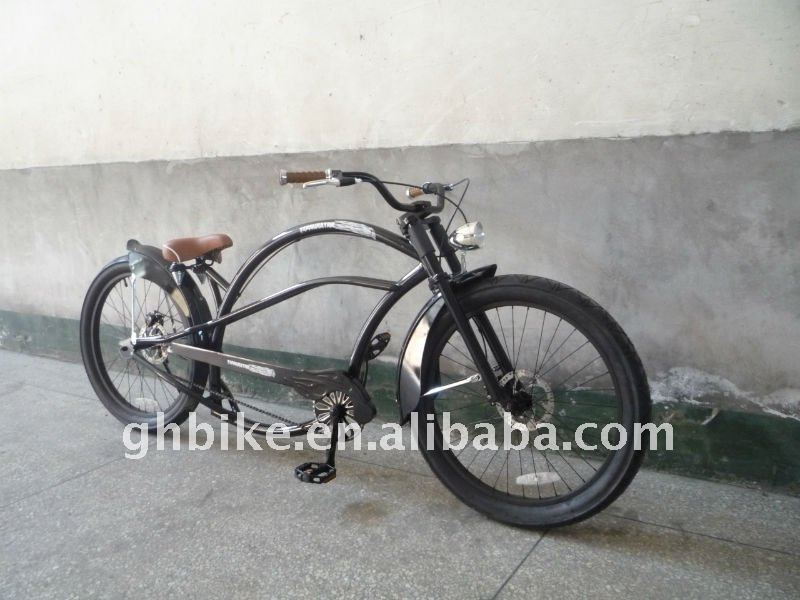 "24""men and lady fation chopper beach cruiser bike,bicycle,suspendisse,basikal,sykkel,cykel,sepeda,bicicletta,kerekpar"