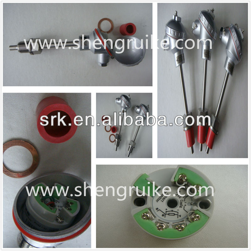 Industrial K type Temperature Transmitter 4 to 20mA