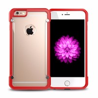 Slim TPU Clear Case For iPhone 6 6s 4.7 inch Transparent Soft Phone Back Cover