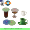 Promotional gift wholesale round shape premium sealing silicone cup lids