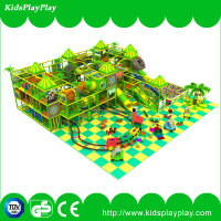 Cute Animal children play wenzhou wooden indoor playground