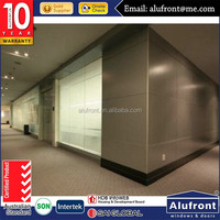 aluminium office glass walls prices Office Partitioning System Glass partitions