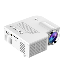 The Lowest Price UNIC LED 12V Mini Portable EU Plug Projector UC28A for Home Use