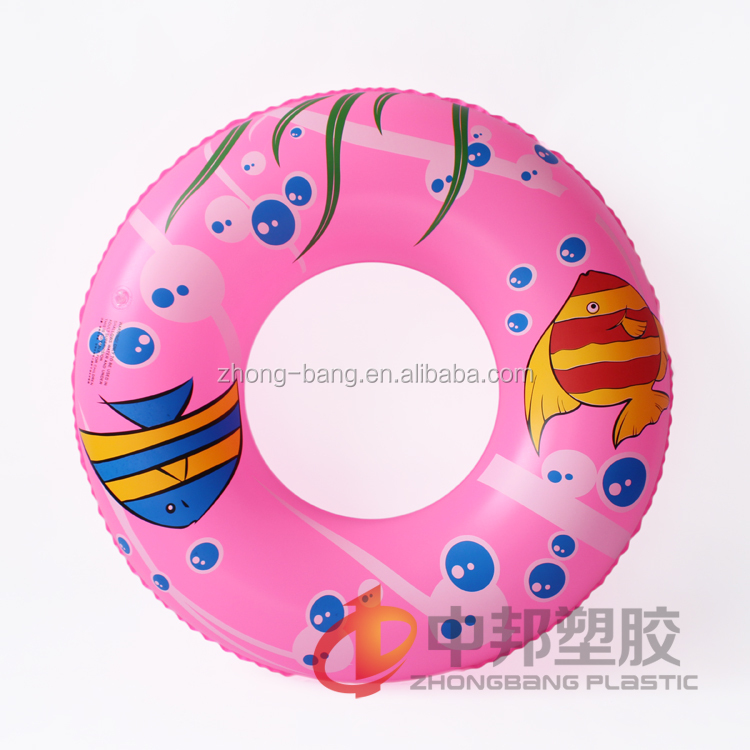 Plastic PVC inflatable donut pool float