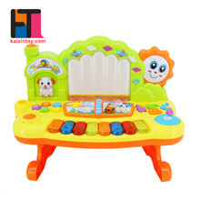 popular kids musical instruments plastic electronic fountain toy piano for education