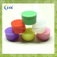 Promotional cheap colorful small non toxic custom food grade silicone bho container