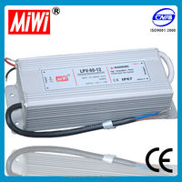 LPV-60 60W 12v 5a Single Output Constant Voltage LED Driver with CE power supply