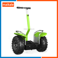 2017 moped 500w*2 brushless motor type off road electric balancing scooter