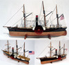 SS CENTRAL AMERICA WOODEN MODEL HISTORIC SHIP - HANDICRAFT