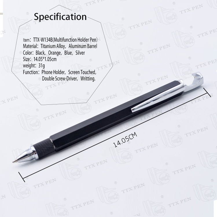 Best selling items metal twist ball point pens with stylus