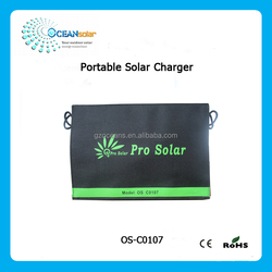 Low price 7W 5V portable solar panel charger