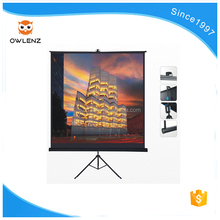 Cheap electric pull-down projection screen products exported from china