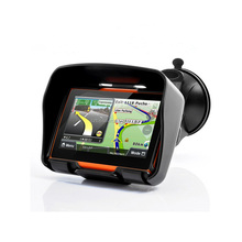 4.3 inch wince 6.0 system 800 Hz CPU touch screen GPS navigation for mororcycle/car/bicycle