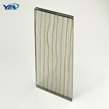 Durable in use color pvb film laminated glass protect privacy