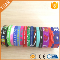 Personalized debossed customize silicone energy bracelet