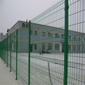 Low price metal fence panel 3D folding mesh fence