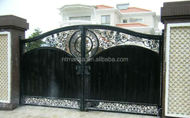Wrought Iron Gate Design For House