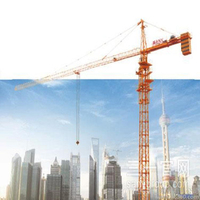SANY Official Manufacturer SYT80 (T6013-6F) 6 Ton 60m Jib Length dubai Tower Crane with ISO Certificate