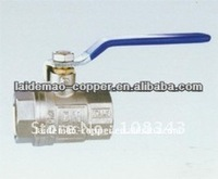 brass ball valve with iron long handle