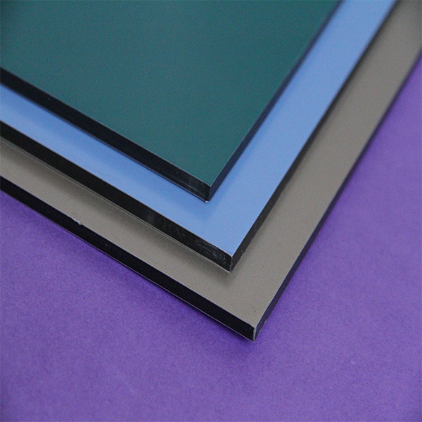 ISO 9001 1220 width lightweight aluminum composite panel for new building construction materials
