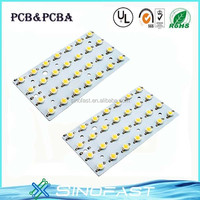 White pcb 3 leds rgb 5050 ws2801 led module