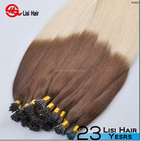 Grade 5A Hot Sale Keratin Prebond remy virgin hair extension suppliers uk