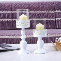Home Decoration Tea light stand home table candle stick holder