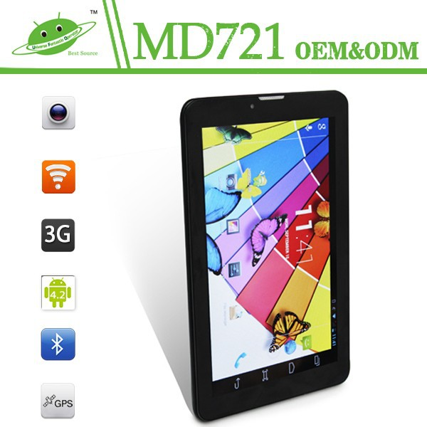 7 inch mtk8312 dual core ips wifi gps 3g android 4.2 OS no name tablet pc