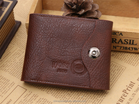 cheap coin bag wallet, low price PU men wallet with coin bag, ultra small wallet for men
