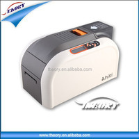 Gold supplier direct supply CR80 double/ sigle side pvc card printer