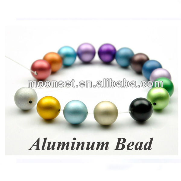 China Wholesale Anodized Aluminium Jewelry Accessories Parts DIY Jewelry Bead