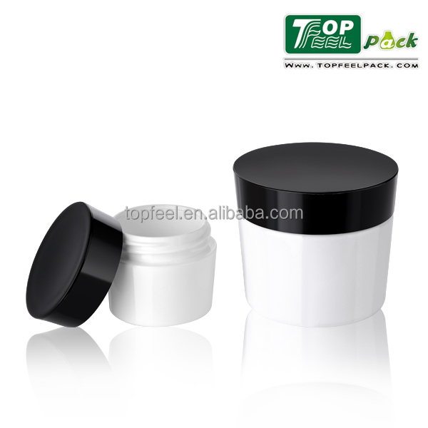 15g Taper Heavy Wall PP Cosmetic Cream Jar, Recycled Plastic Cosmetic Jar