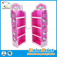 Low price sale cardboard/plastic detachable market display stands