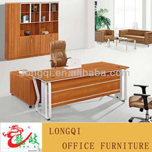 modern modular simple popular new style melamine beautiful design high quality executive table modern office desk with metal leg