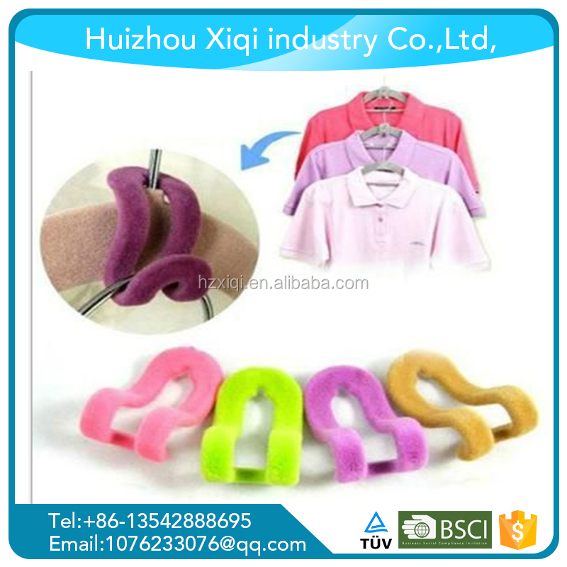Mini velvet door hook , clothes hanger hook plastic hook