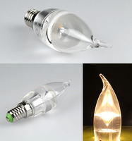 led candle bulbs light 3w electrolier light 330 degree 6500k from China supplier