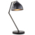 Original design fancy black table lamps lighting bedside reading lamp from China supplier