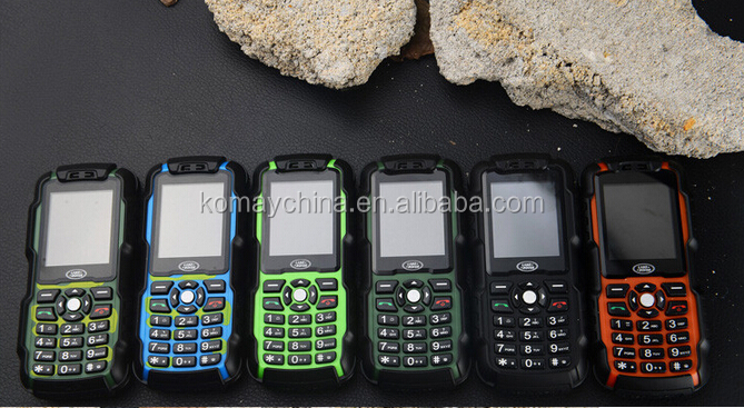 KOMAY Latest dual sim card long standby time battery land rover rugged mobile phone A9N